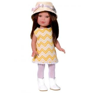 Vestida de Azul Paulina Yellow Dress CLOTHES SET 33cm