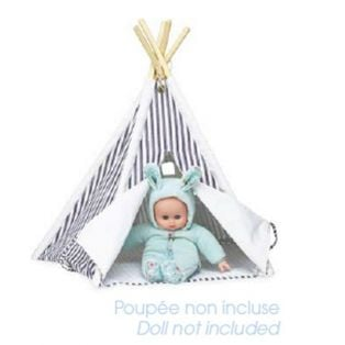 Petitcollin Mini-Teepee Stripe  55 x 35cm alternate image