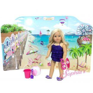 Sophia's Reversible Beach & Catwalk Play Scene