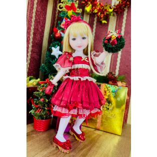 Ruby Red Galleria Fashion Friends Stella Christmas Doll 36cm alternate image