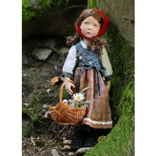 Zwergnase Junior Doll 2020, Little Red Riding Hood L/E 26 Dolls, 50cm
