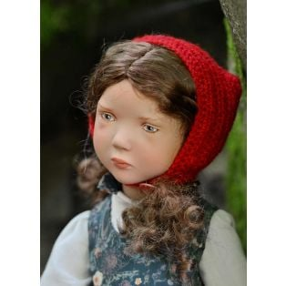 Zwergnase Junior Doll 2020, Little Red Riding Hood L/E 26 Dolls, 50cm alternate image