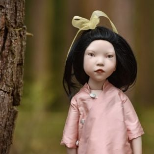 Zwergnase Junior Children of The World Doll 2021 Sakura, 50cm