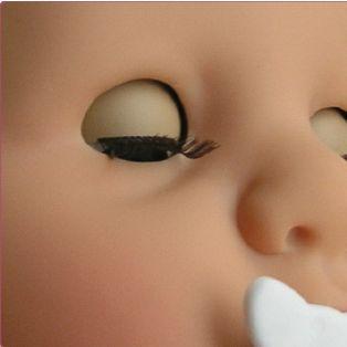 Gotz Cookie Care Baby Girl or Boy Doll Blue Spots 48cm, L alternate image