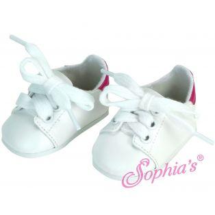Sophia's White Trainers