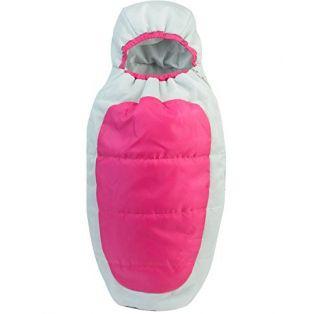 Sophia's Hooded Sleeping Bag 45-50cm - HOT PINK alternate image