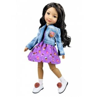 Ruby Red Galleria Fashion Friends Sprinkles On Top Outfit	 36cm alternate image