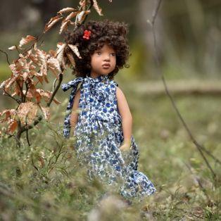Zwergnase Junior Children of The World Doll 2021 Tamika, 50cm