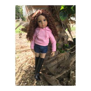 Maru & Friends NEW Limited Edition 33cm Mini Pal Tanya doll with 2 Wigs!