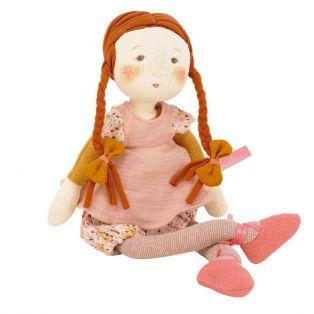 Moulin Roty Fleur Rag Doll Les Rosalies, 31cm