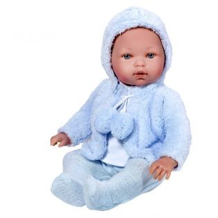 Vestida de Azul TWINS Girl and Boy Baby Dolls 45cm alternate image