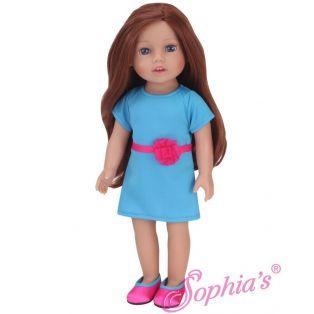 Sophia's 18 Inch Doll Miley Auburn Hair 46cm