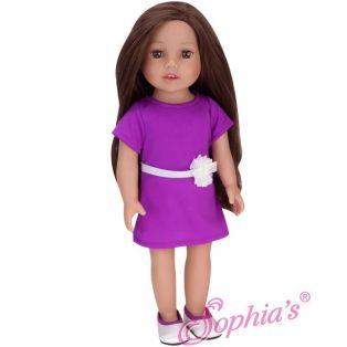 Sophia's 18 Inch Doll Hailey Brown Hair 46cm