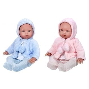 Vestida de Azul TWINS Girl and Boy Baby Dolls 45cm