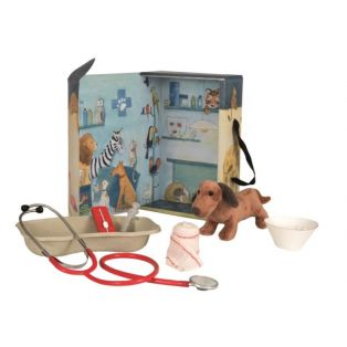 Egmont Toys Toy Vet Set With Dog