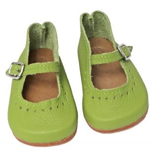 Wagner Doll Shoes Group 5 Style Louisa - GREEN