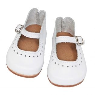 Wagner Doll Shoes Group 5 Style Louisa - WHITE