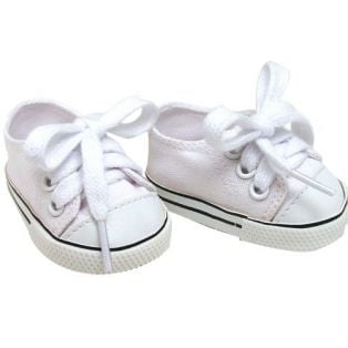 Tennis Shoes (White) Baby Doll Fit