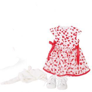 Gotz Little Kidz Love Heart Dress Set 36cm, XM