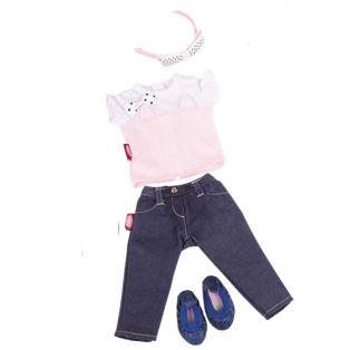 Gotz Little Kidz Jeans Set 36cm, XM
