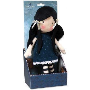 Santoro Gorjuss Rag Doll In Gift Box - You Brought Me Love, 30cm