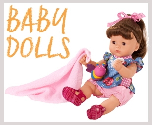 Baby and toddler dolls