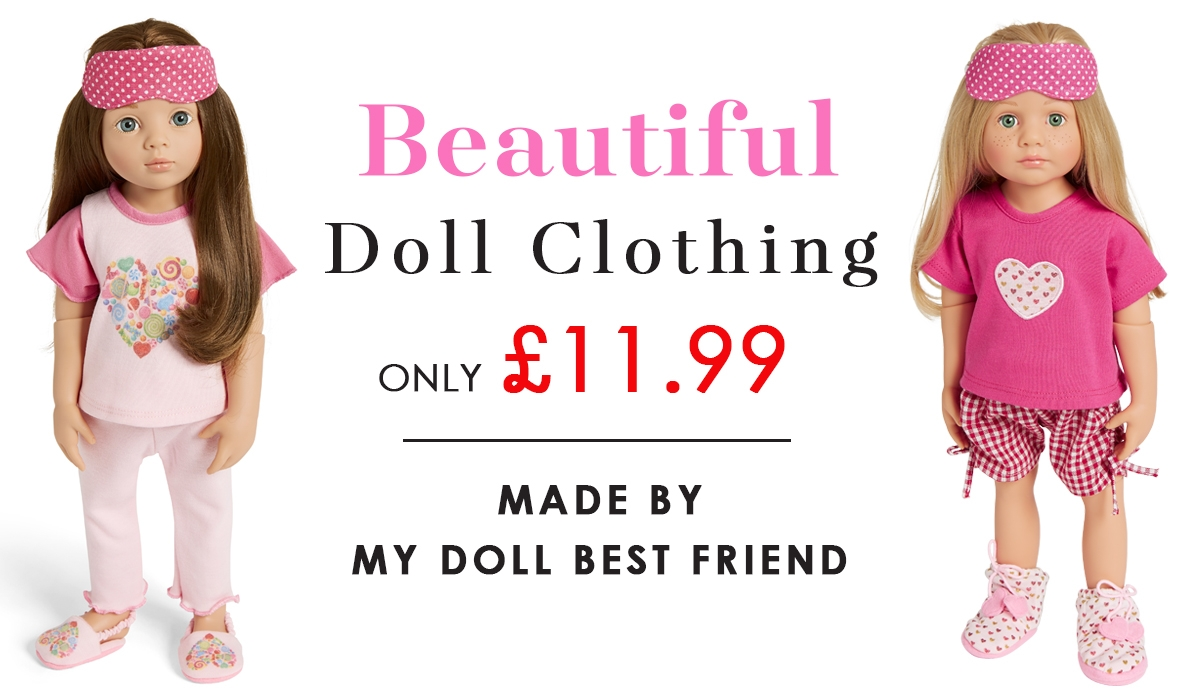 Dolls clothes in the sale
