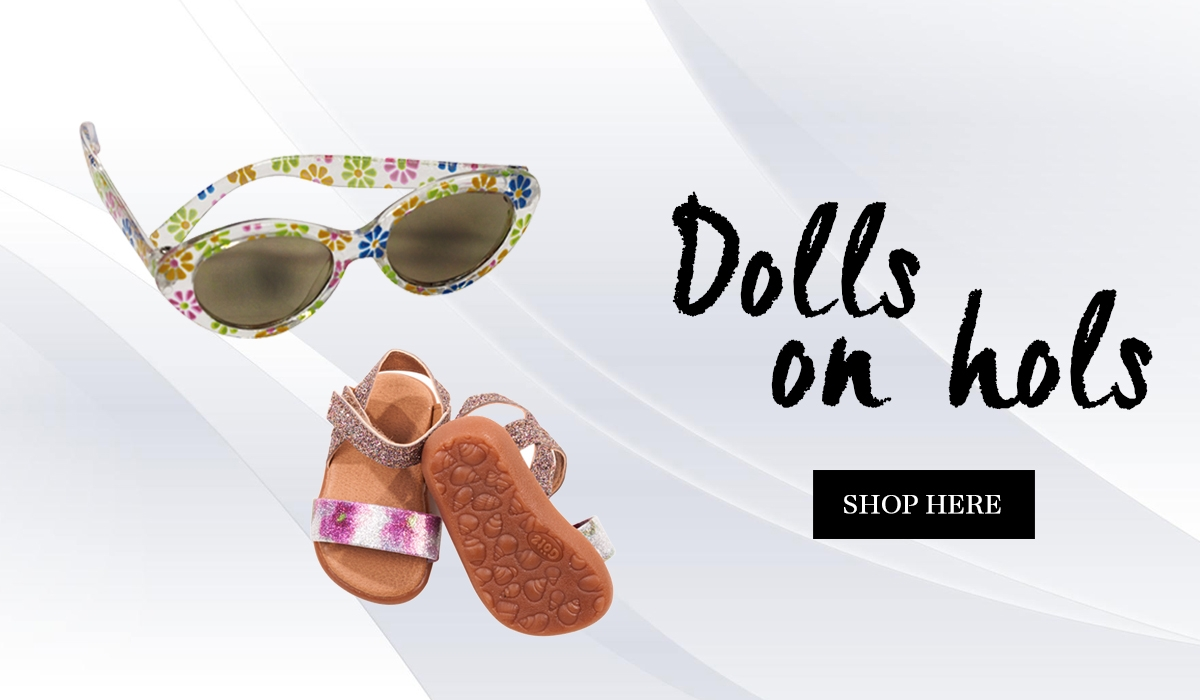 Perfect toys to take on holiday for dolls