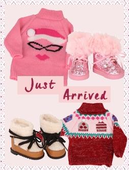 Gotz doll Christmas clothing