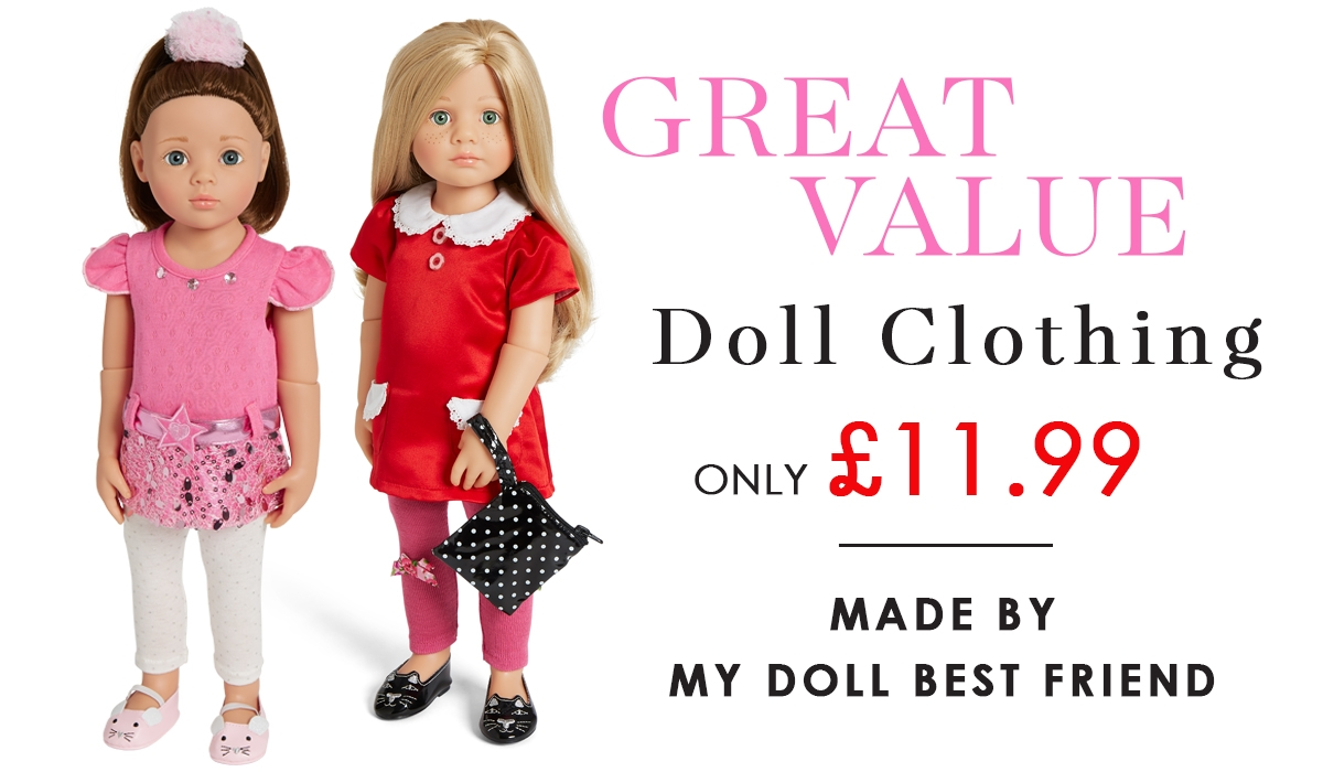 Great prices for 18 inch dolls clothes