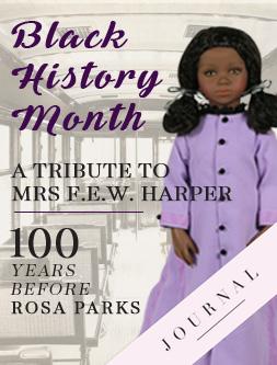 Black History Month in DOLLS Mrs F E W Harper
