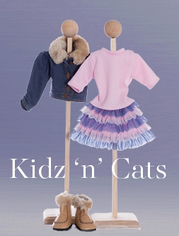 Kidz 'n' Cats dolls and clothing