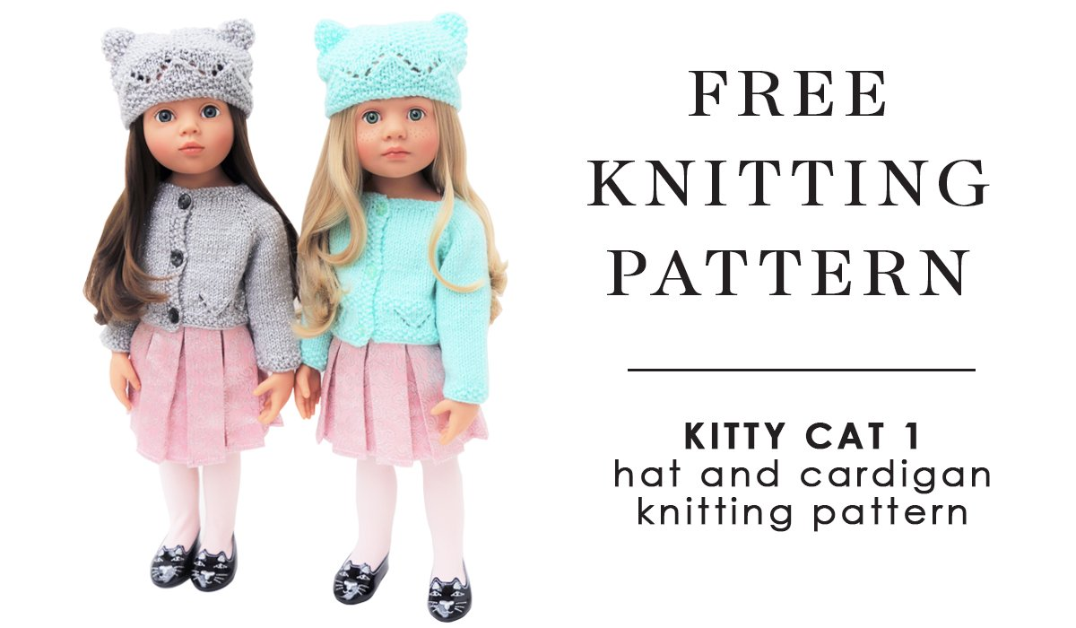 free knitting pattern for doll gotz kitty doll