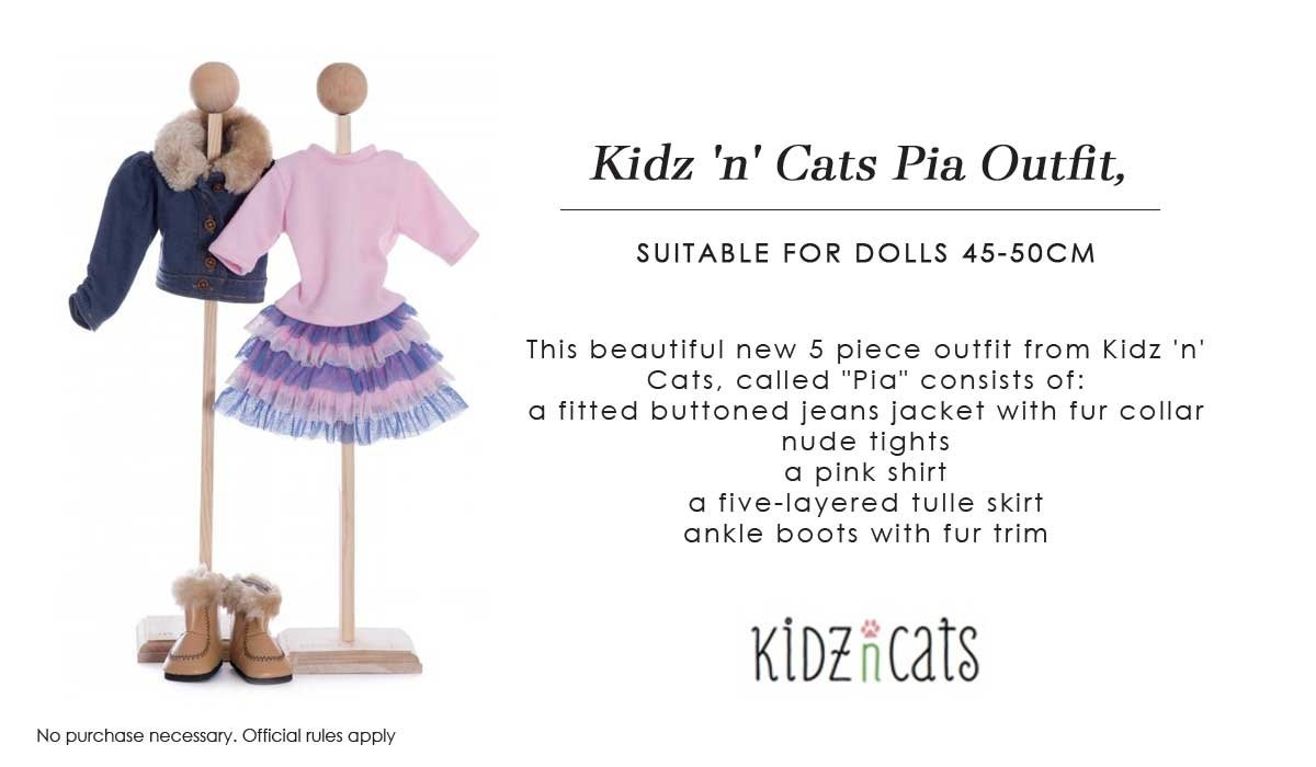 Outfit Pia Comptetition Kidz n Cats