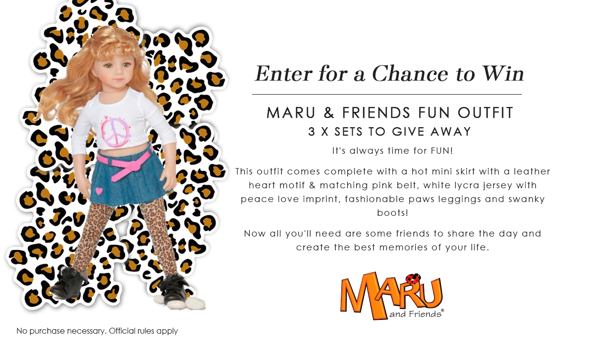 Maru and Friends Fun Competition