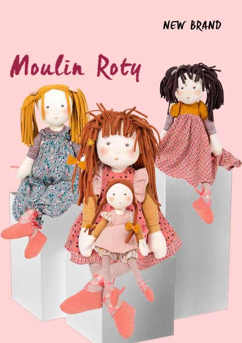 Moulin Roty rag dolls