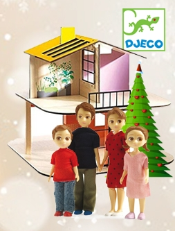 Djeco Dolls Houses and dolls