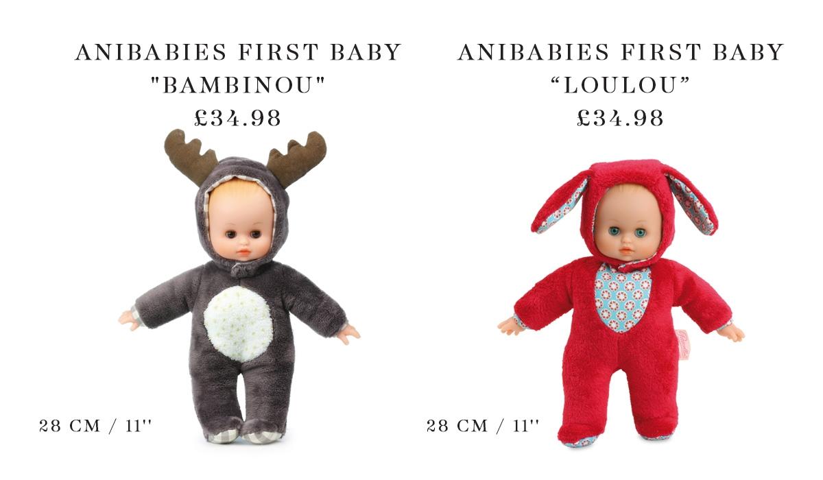 Petitcollin Anibabies Baby Dolls