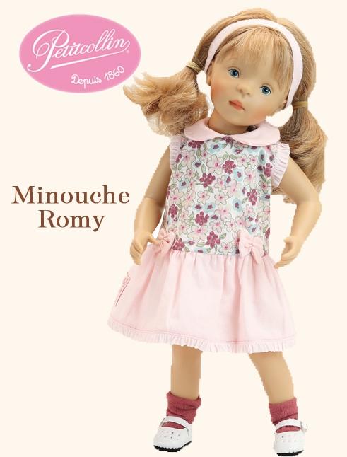 Petitcollin Minouche Romy Doll by Sylvia Natterer