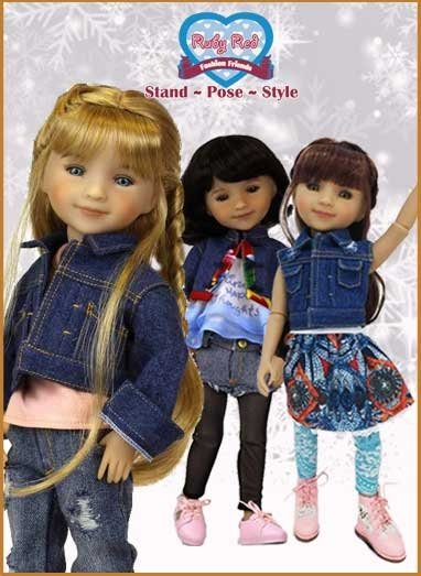Ruby Red Galleria Fashion Friends dolls
