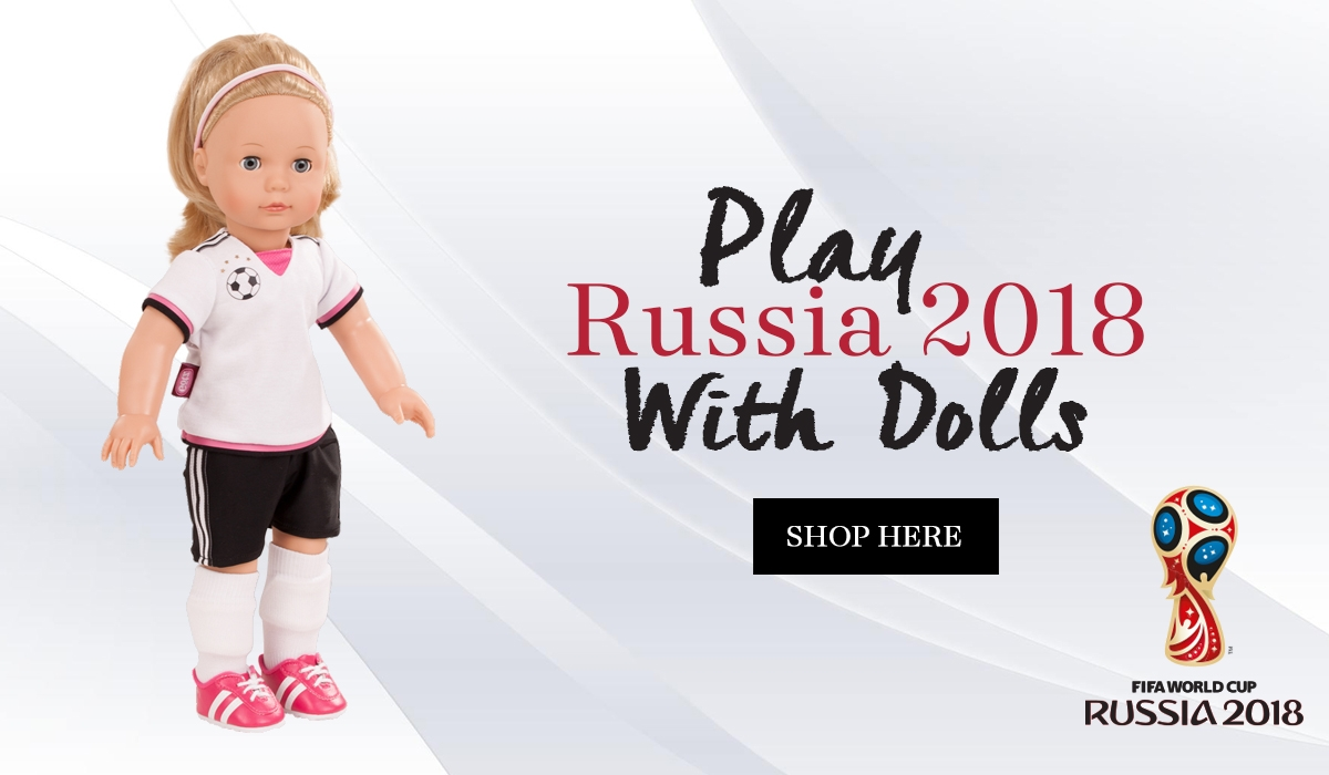 Dolls play football
