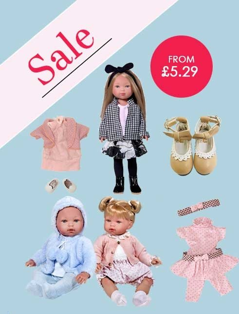 Dolls in the sale