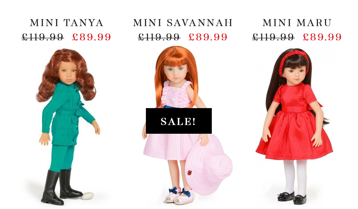 Maru and Friends dolls in the sale reduced price