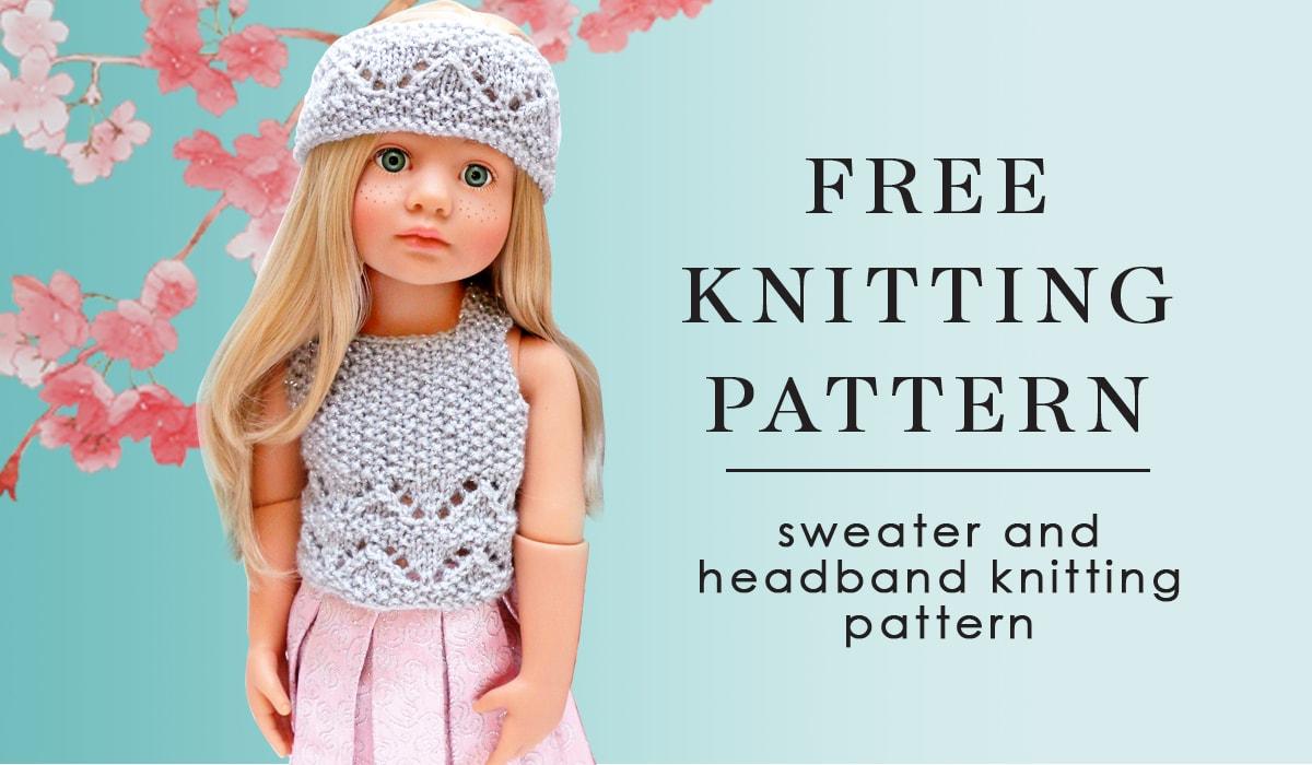 Gotz Happy kidz Kitty doll free knitting pattern 2