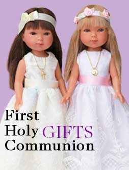 First Holy Communion gifts dolls