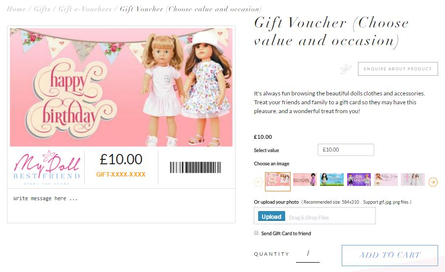 how to order a gift voucher