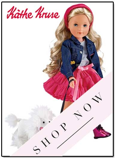 Kathe Kruse La Bella dolls in stock
