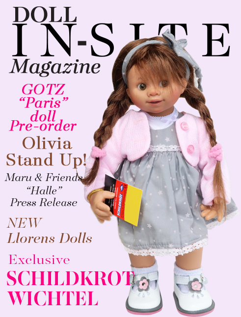 Doll In-Site Magazine featuring Schildkrot Customised Wichtel Doll